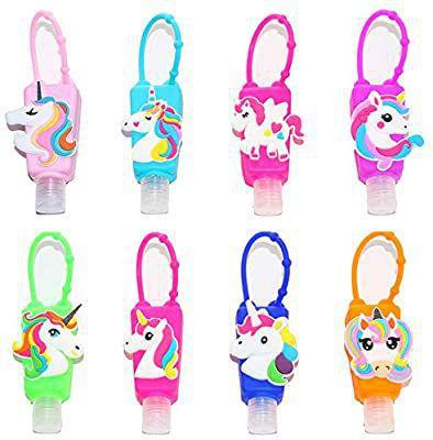Sanitizer Unicorn Key Chain