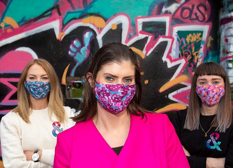 Lidl face coverings photo call + launch