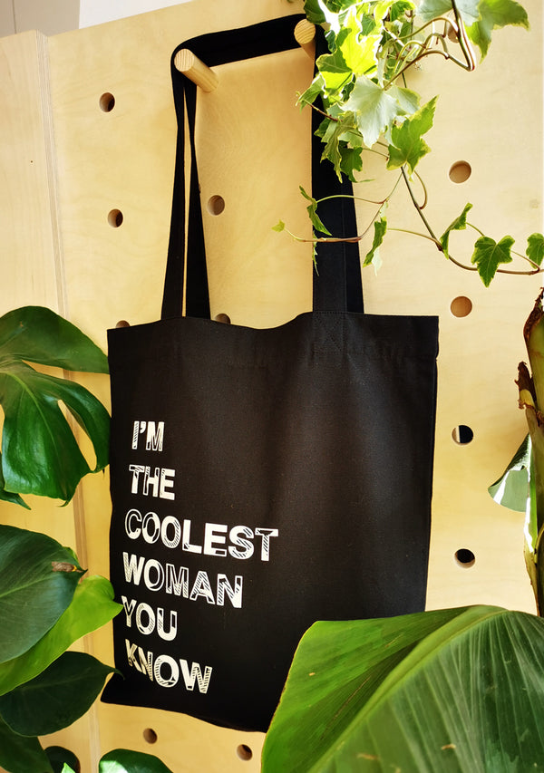 Coolest woman tote