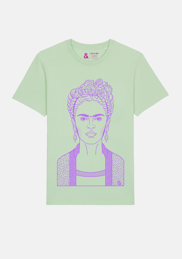 Frida Pale Green T-shirt