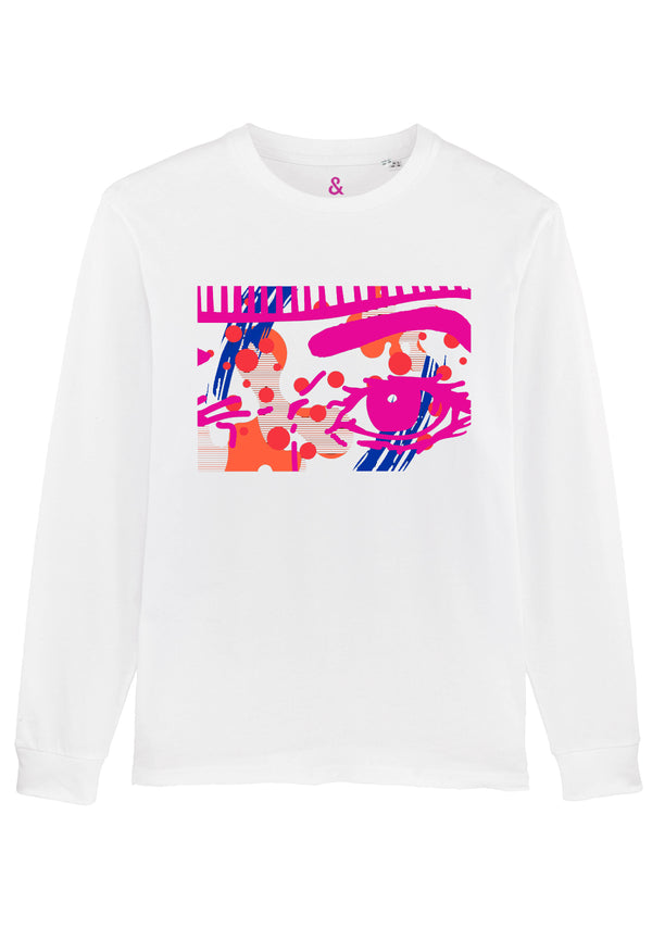 Obsessive White Long Sleeve T-Shirt