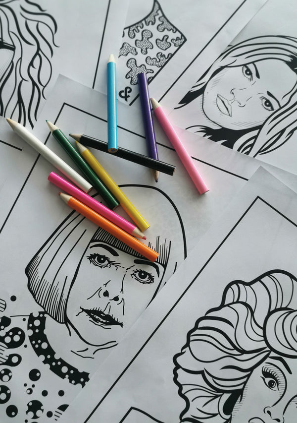 Colour your own Boss Lady