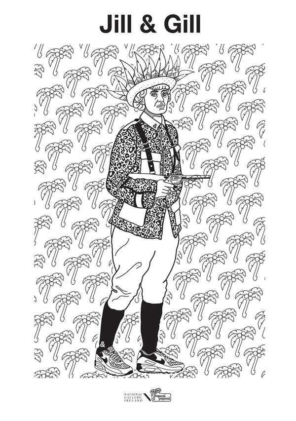 Colour your own Boss Lady | Countess Markievicz