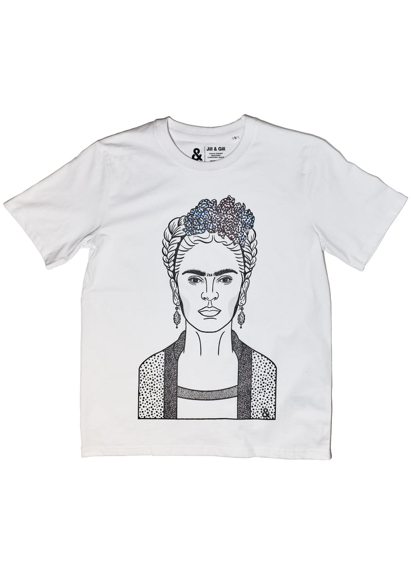 Frida White T-shirt