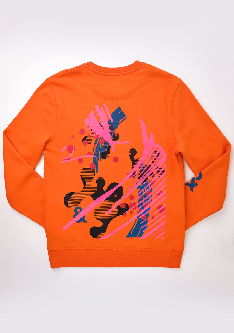 Obsessive Sweater Orange