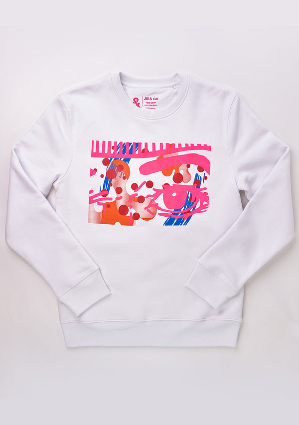 Obsessive Sweater White