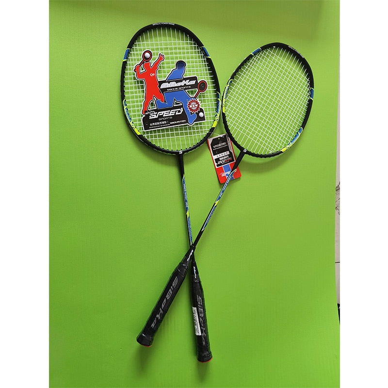 2pcs Professional AluminumI Integrated Badminton Rackets Set with 2 Shuttlecock,Bag Packing,outdoor sports|Badminton Rackets