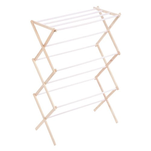Honey-Can-Do Wooden Laundry Drying Rack - BUZOK