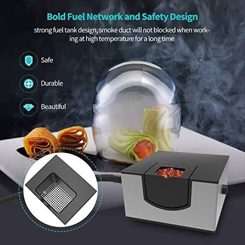 Wancle Smoking Gun Food Smoker Infusion Smoker for Sous Vide Meat Grill BBQ Silver - BUZOK