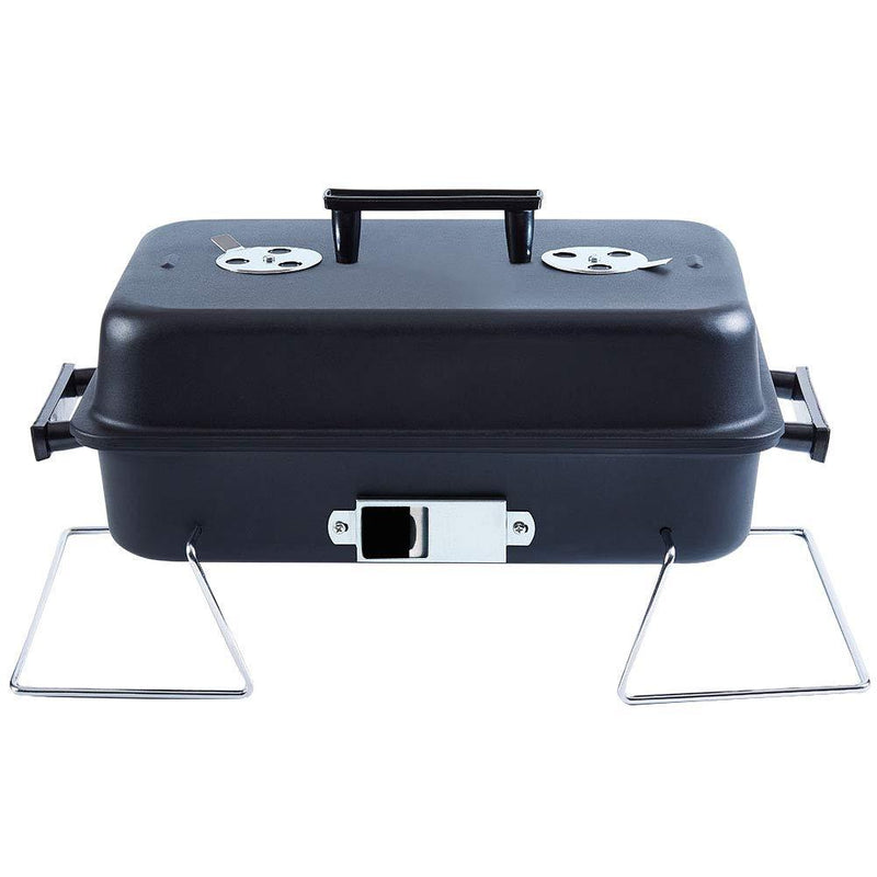 ISUMER Portable Charcoal Grill with Lid Folding Tabletop BBQ Grill Barbecue Grill for Outdoor Cooking Camping Picnic Patio Backyard Cooking - BUZOK