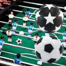 6pcs 32mm Table Soccer Foosball Fussball Football Machine Accessories Replacements Black and White Ball Kids Indoor Game|Soccer Tables
