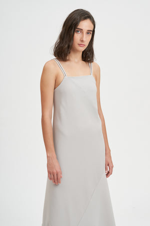 Double Strap Slip Dress