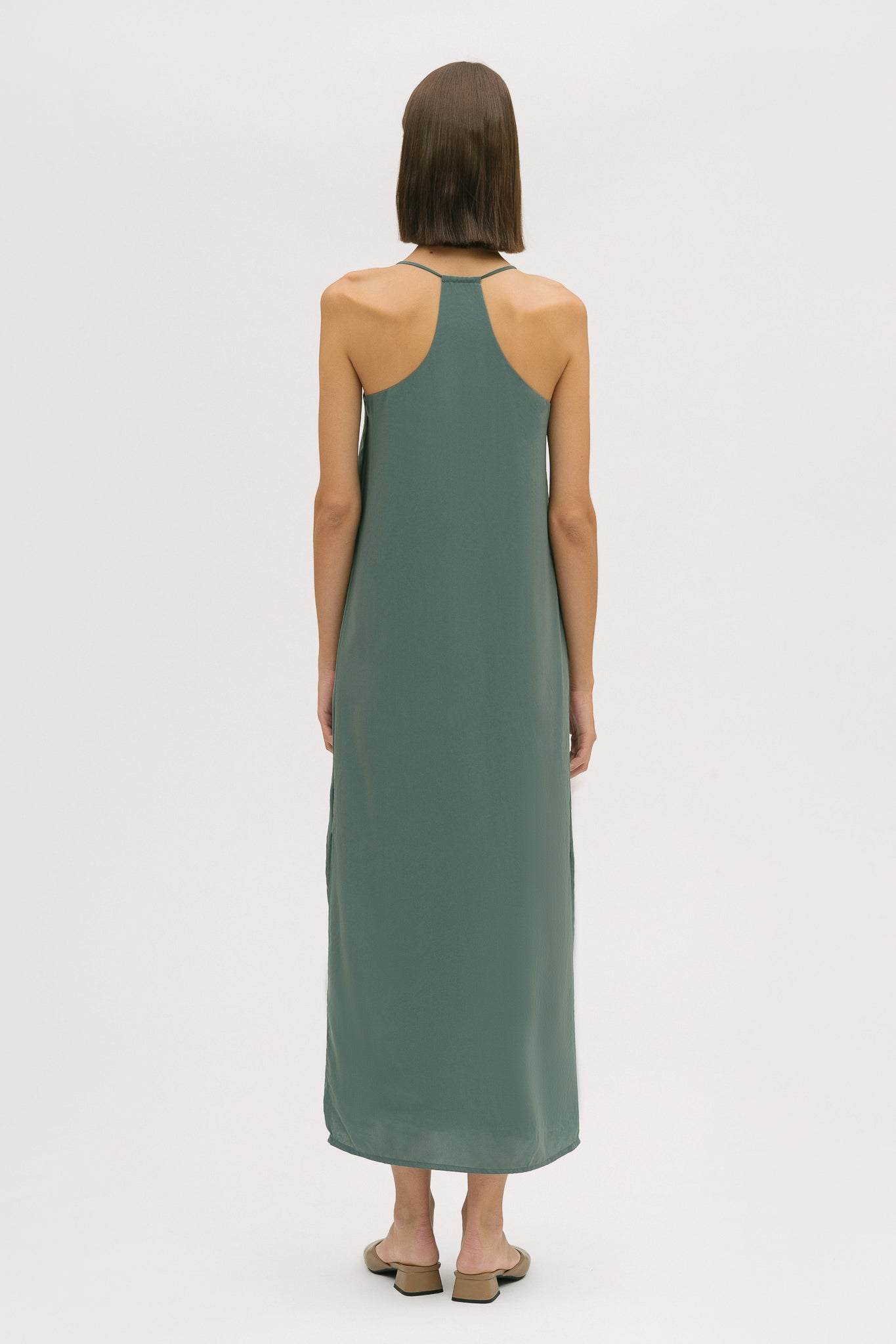 Back Detail Long Dress