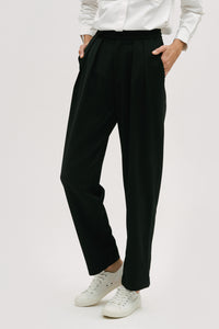 Pleat Detail Trousers