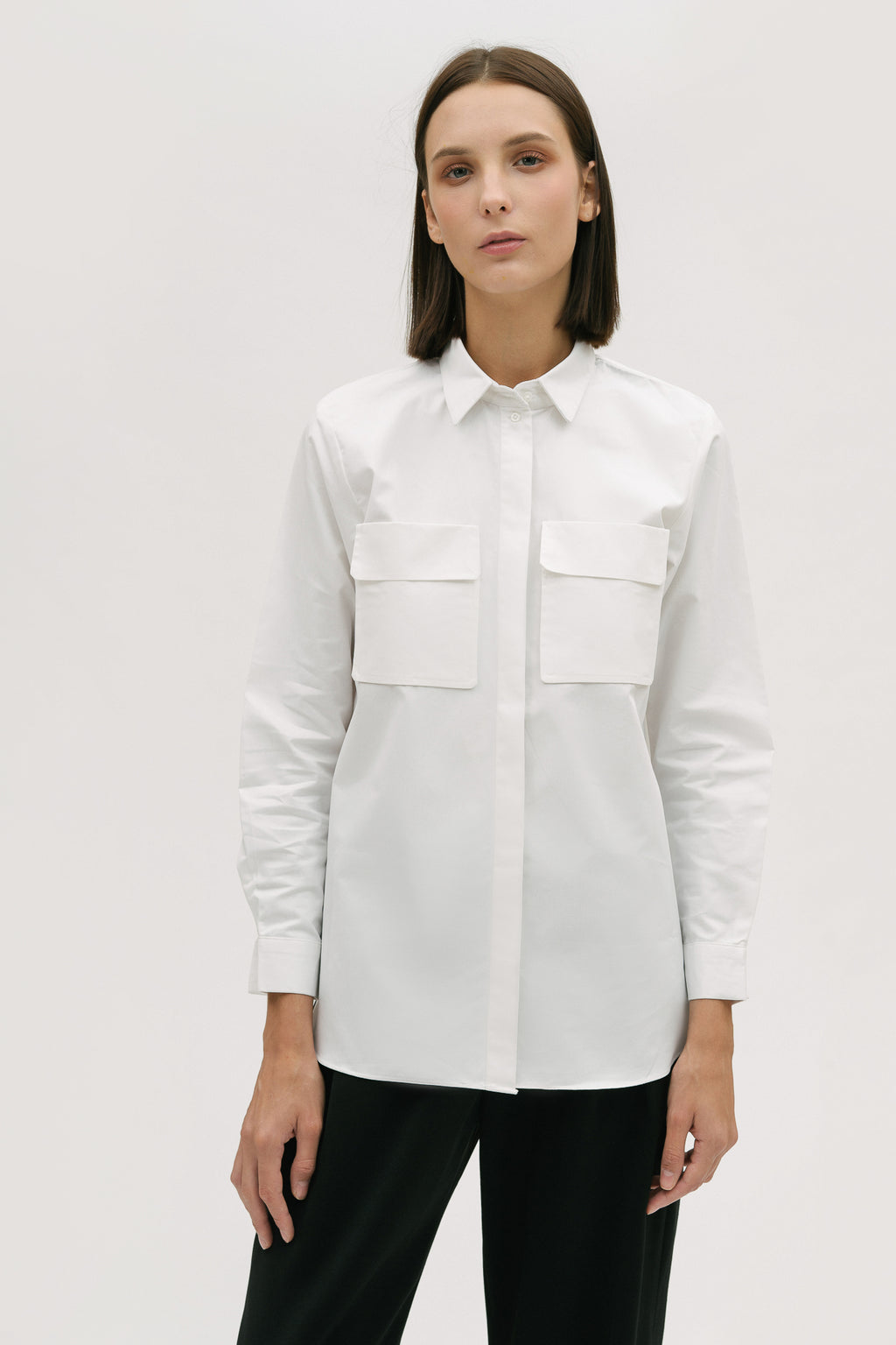 Utilitarian Long Sleeve Shirt
