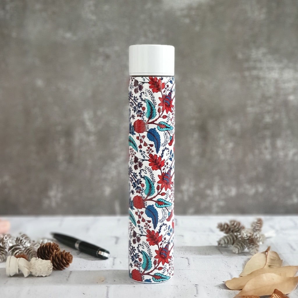 INSULATED SLIM BOTTLE - KITSCH FLORAL