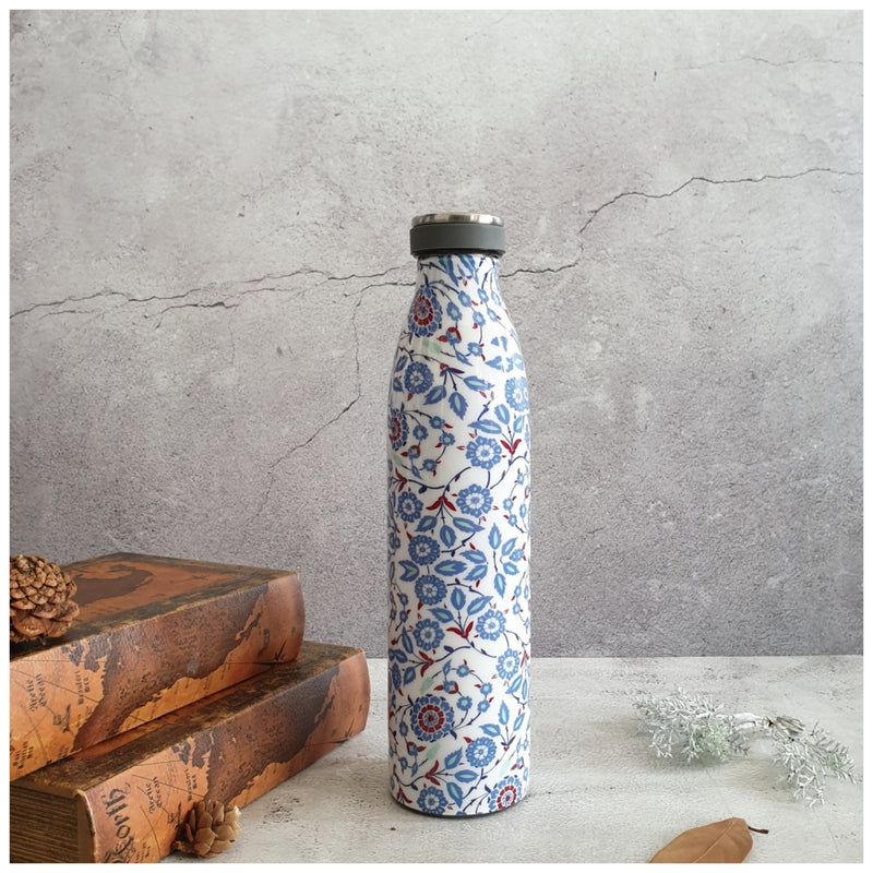 INSULATED 750 ml TALL BOTTLE - WHITE PEONY