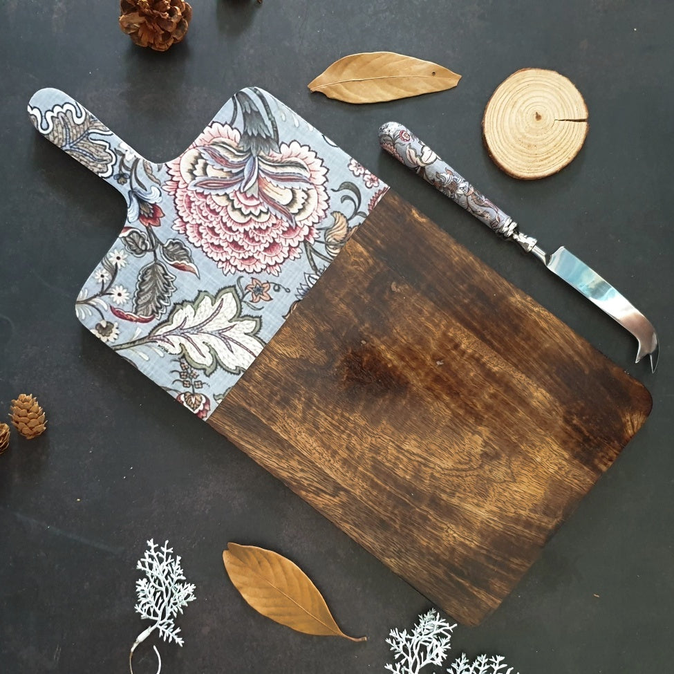 Cheese Board & Knife Set- Jaipur Collection
