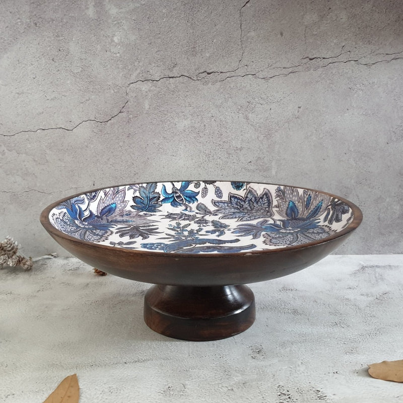 CAKE STAND LARGE - SAPPHIRE