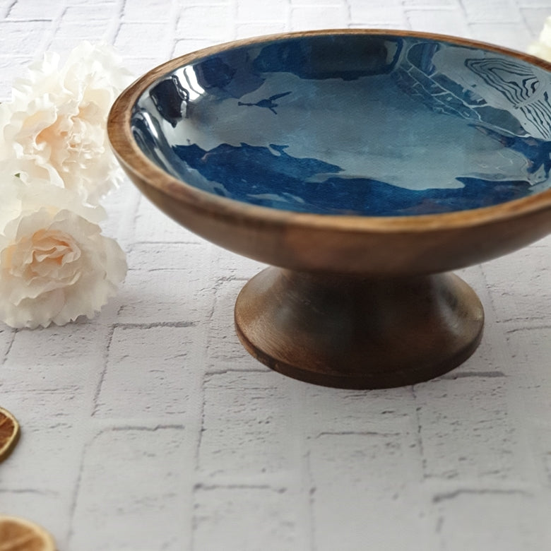Royal Blue Cake Stand (Small)