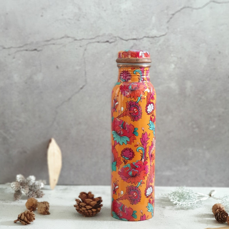 Copper Bottle 950 ml - Orange Blossom