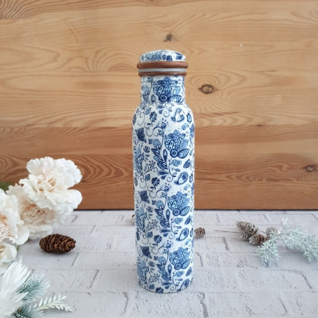WATER LILY COPPER BOTTLE