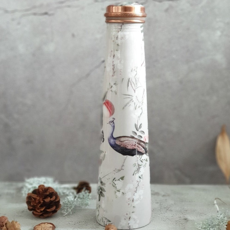 Slim Copper Bottle, 750 ML, Mayura Gray