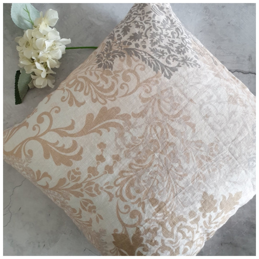 Cushion - Linen - Vintage Beige