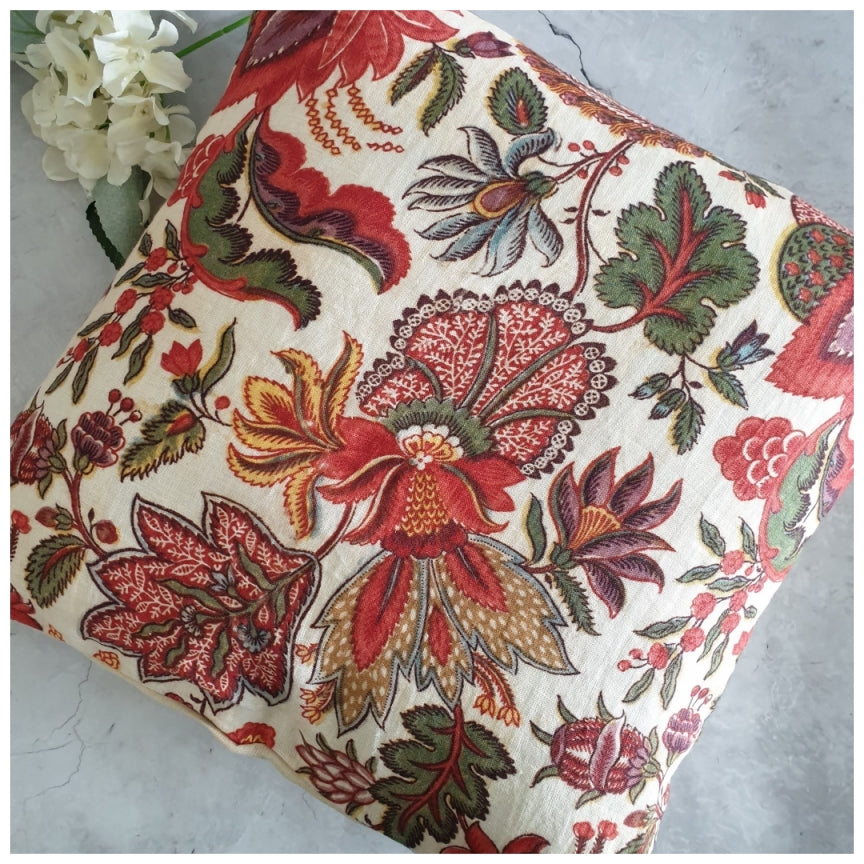 Cushion - Linen - Kalamkari
