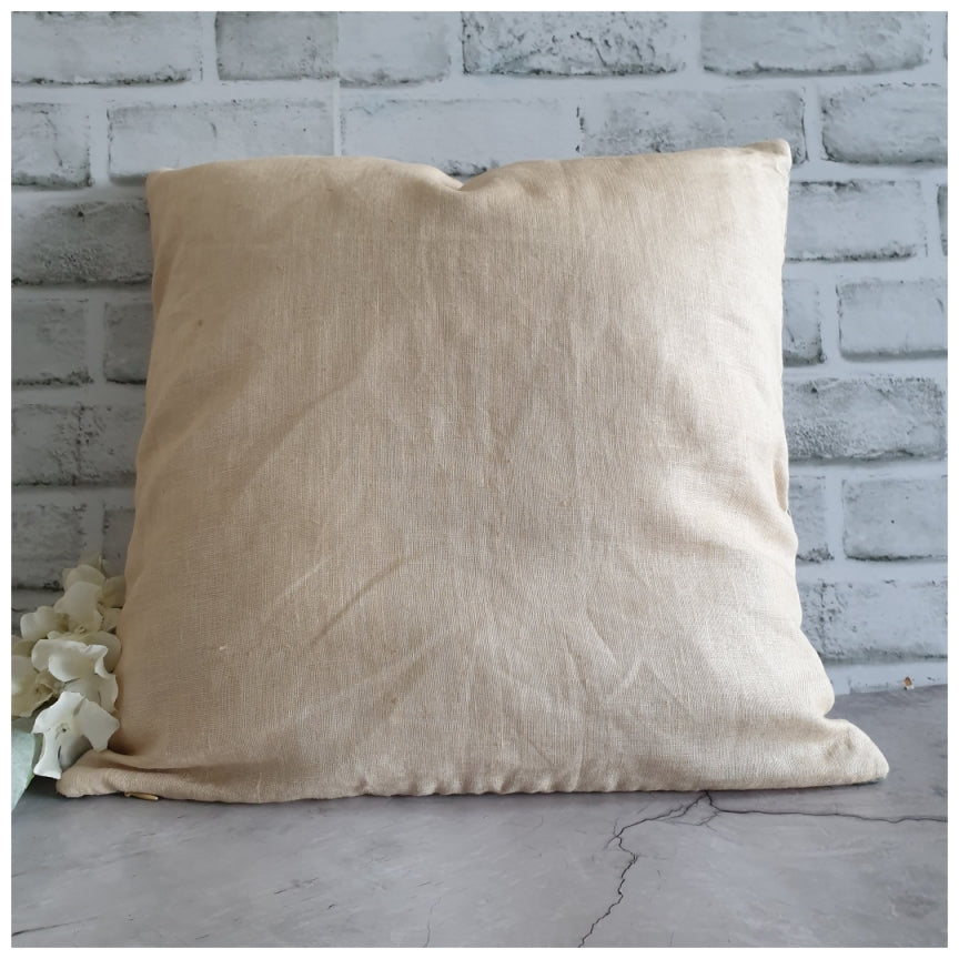 Cushion - Linen - Summer Rain