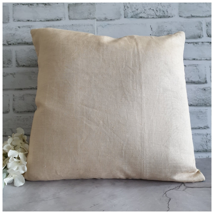 Cushion - Linen - Blue Popular