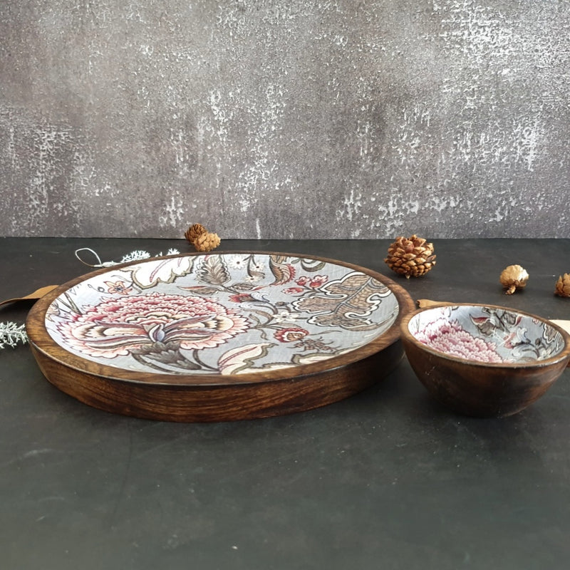 PLATTER - ROUND - JAIPUR COLLECTION
