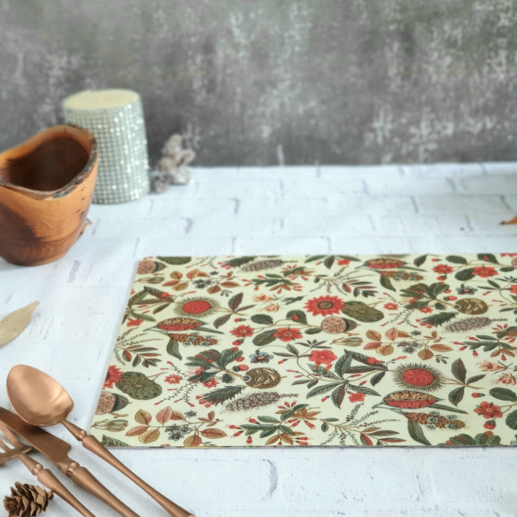 WIPE CLEAN TABLEMATS/PLACEMATS - TRADITIONAL