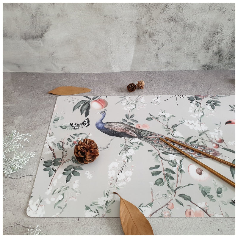 WIPE CLEAN TABLEMATS/PLACEMATS - MAYURA