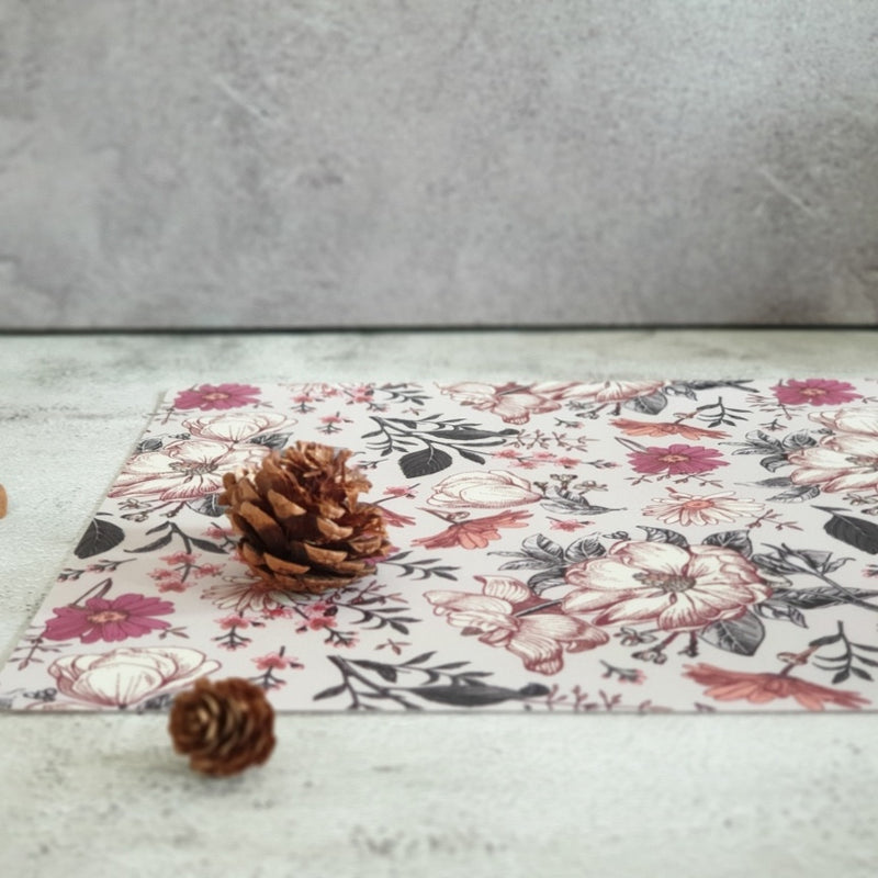 WIPE CLEAN TABLEMATS/PLACEMATS - ENGLISH COUNTRY
