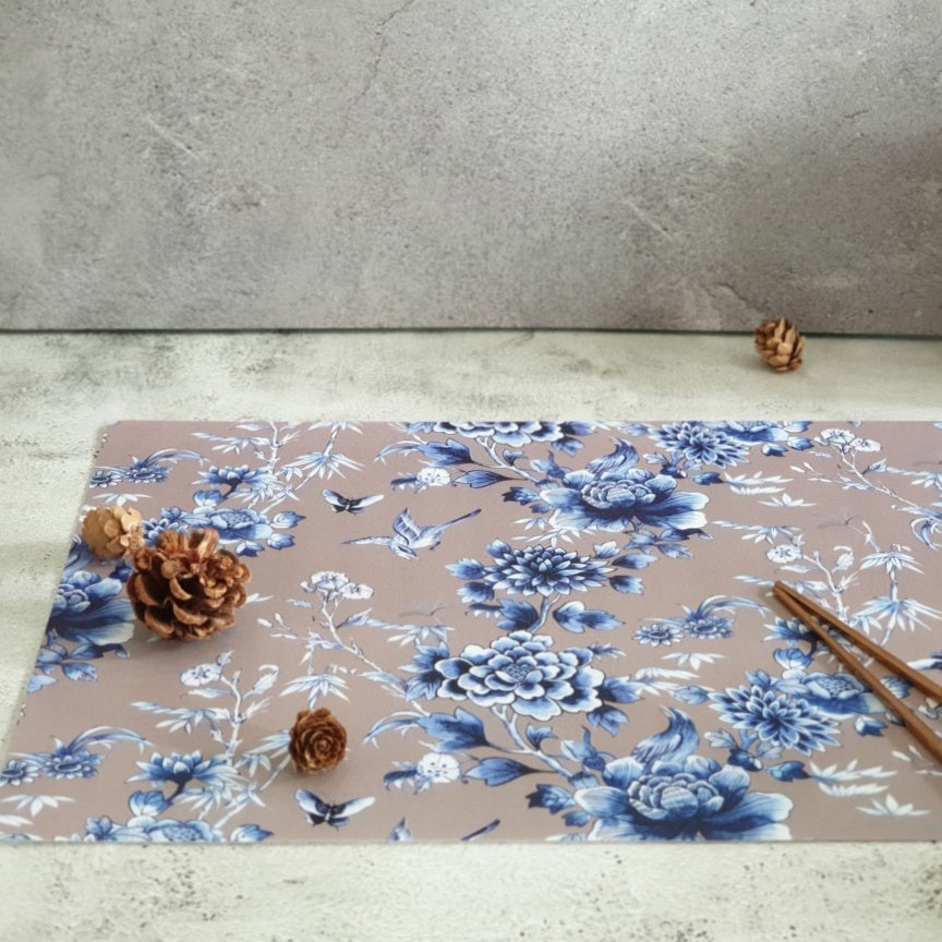 WIPE CLEAN TABLEMATS/PLACEMATS - ENCHANTED FOREST (EARTHY)