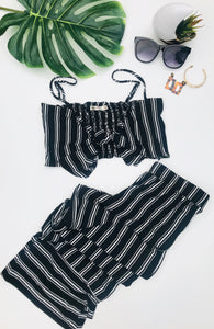 Two Piece Set Tank & Polazzo Pant