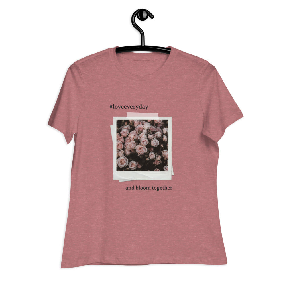 Let's Bloom Together Tee