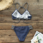 Ribbed Low-waist Bikini Set
