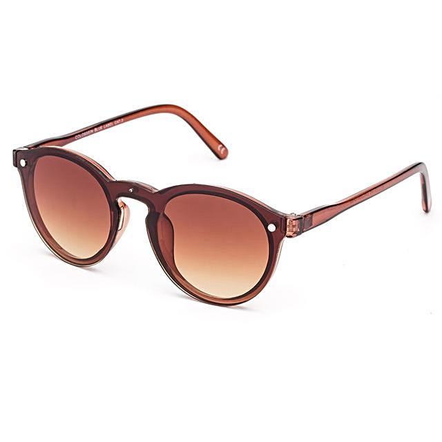 Cat Eye Brown Frame  Sunglasses