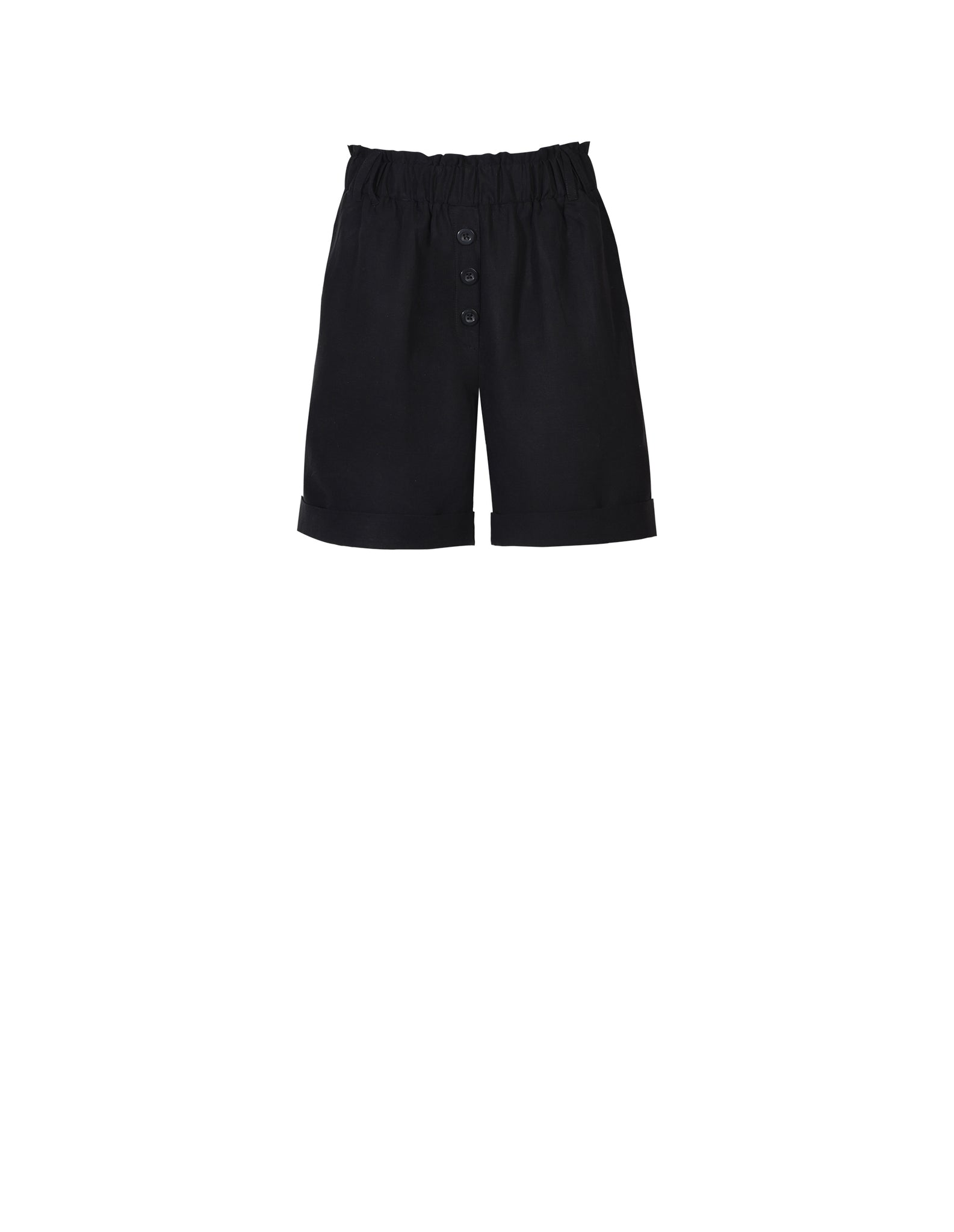 Gretta Short in Black - ISLE & ROW