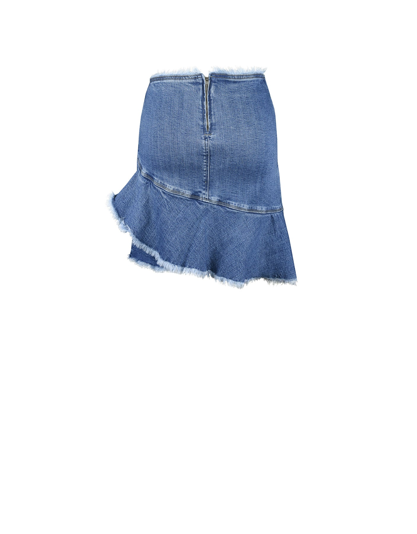 Denim Ruffle Skirt - ISLE & ROW