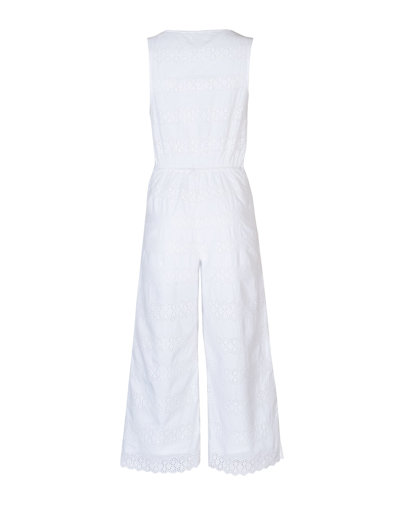 Lucy Jumpsuit White - ISLE & ROW