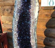 "Load image into Gallery viewer, Amethyst Crystal Quartz Cathedral Display Large 121 lb. Cluster ~ 36"" Tall ~ Beautiful Sparkling Purple Points ~ Fast & Free Shipping"
