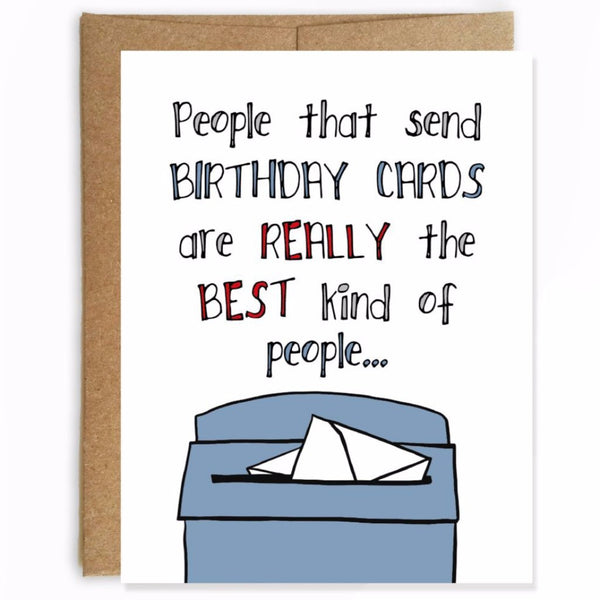 Best Kind of People Birthday Card