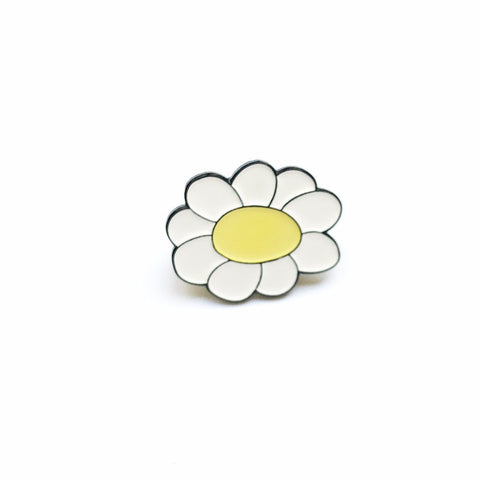 Daisy Enamel Flower Pin - Seconds Sale