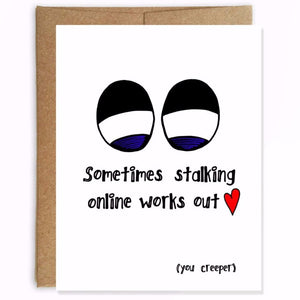 Online Creeper Valentines Day Card