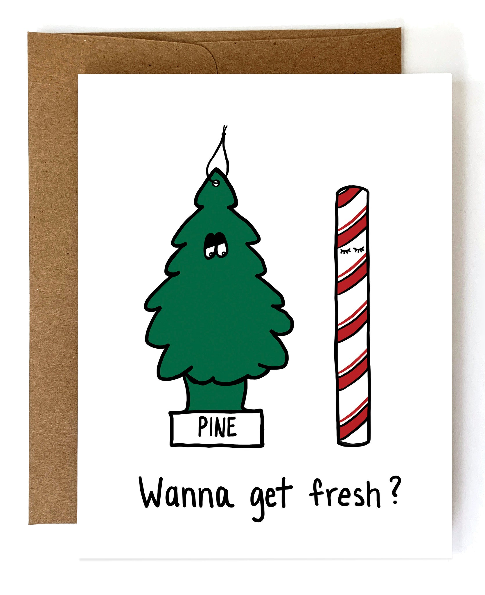 Get Fresh, Funny Christmas Card - NEW