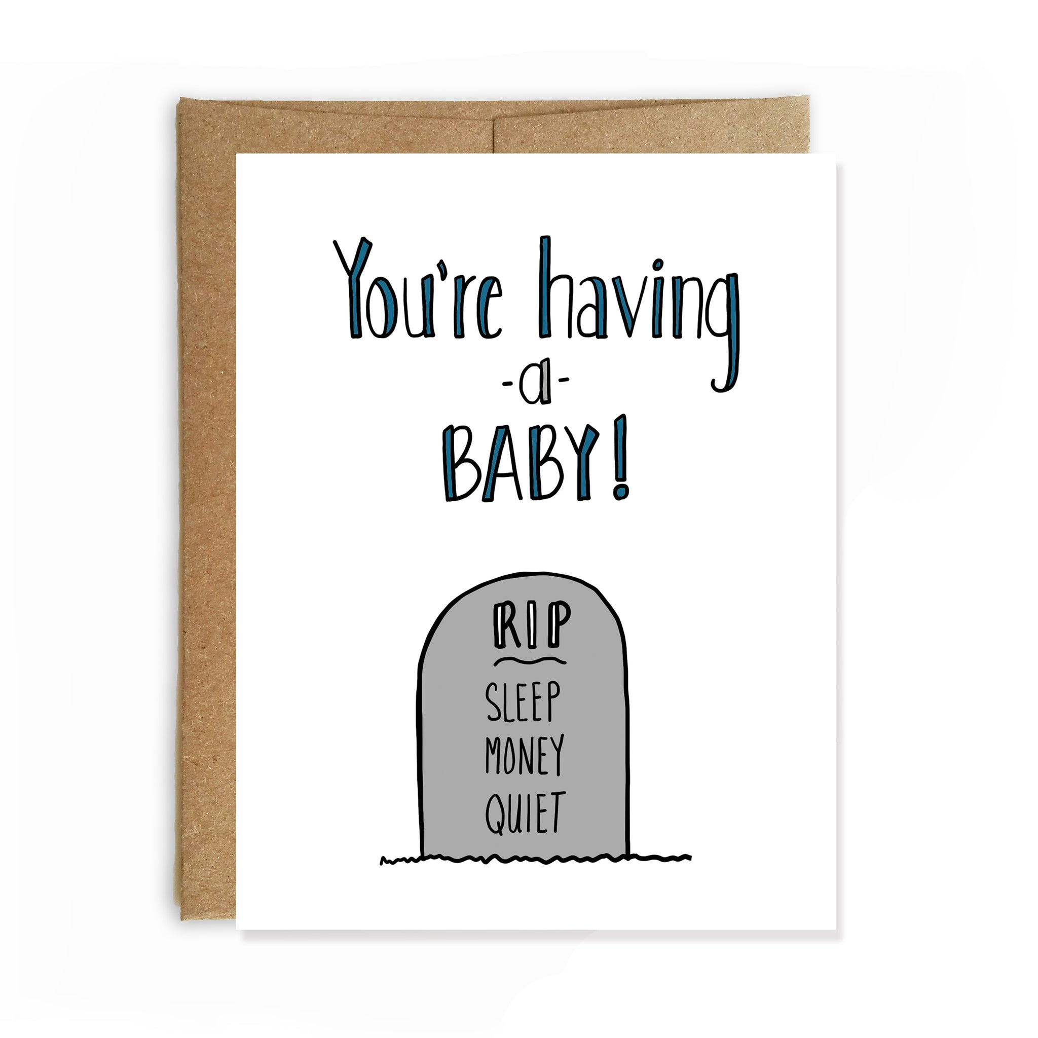Having a Baby, Congratulations Card