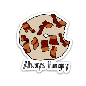 Maple Bacon Donut Sticker, Vinyl Donut Sticker - NEW